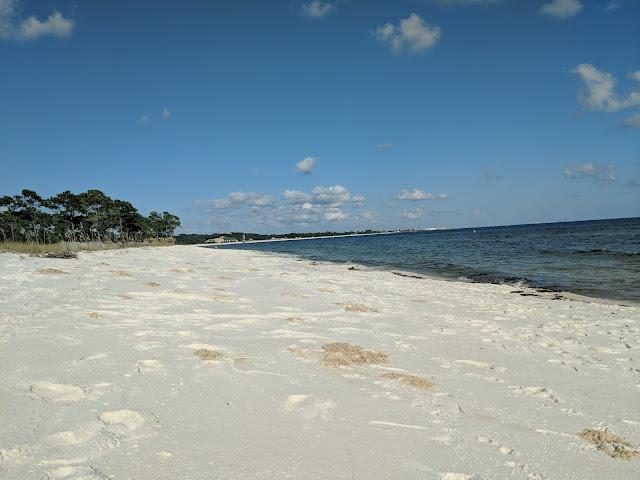 Beach on Pensacola Bay