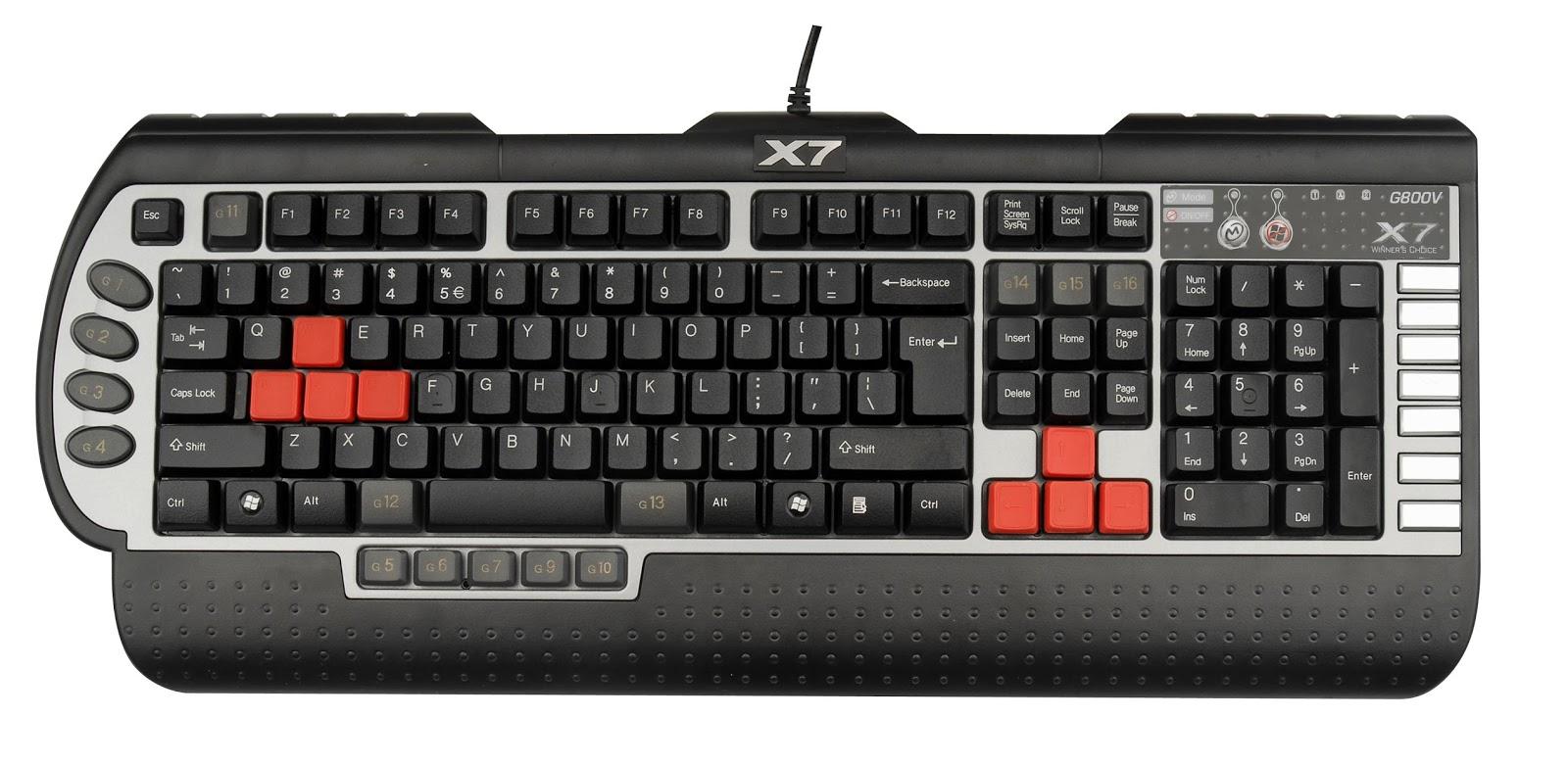 Keyboard Gaming Fantech K12 Outlaw X7 G800v Memang Berbeda Dengan Standar Pada Umum Nya Ini Dia Bentuk