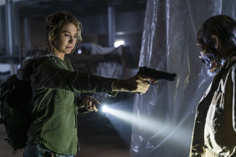 Naomi en el episodio 4x06 Just in Case en Fear The Walking Dead
