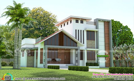 1417 square feet 3 bedroom modern home architecture