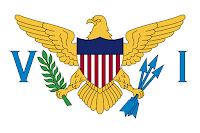 Logo Gambar Bendera Negara Kepulauan Virgin Amerika Serikat PNG JPG ukuran 200 px