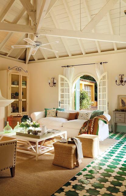 Casa tr s chic tapetes naturais - Suelos para salon ...