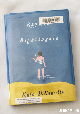 Raymie Nightingale by Kate DiCamillo is this award winning authors latest book.  I love DiCamillo's writing style; her books are amazing.  However, I felt this one was mediocre.  3.5 out of 5 stars for this middle grade realistic fiction book review.  This coming of age friendship story is cute and relatable for kids with single families or parents that left/died.  Best for 4th-7th grade. Alohamora Open a Book http://alohamoraopenabook.blogspot.com/