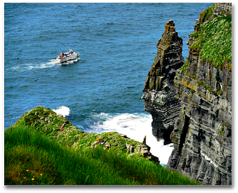 Cliffs of Moher & Aran Islands, IRELAND