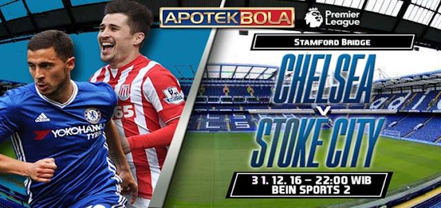 Prediksi Pertandingan Chelsea vs Stoke City 31 Desember 2016
