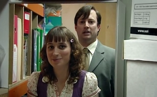 Mark Dobby Stationary Cupboard Peep Show
