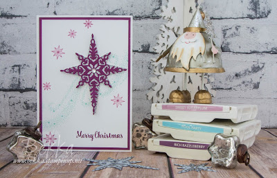 Star Of Light Christmas Card - Buy the Stampin' Up! UK Supplies to make this here