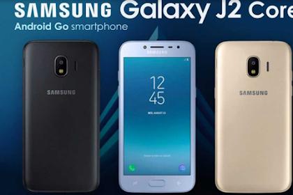 Samsung Galaxy J2 Core Dibanderol Rp1,3 Juta di Indonesia