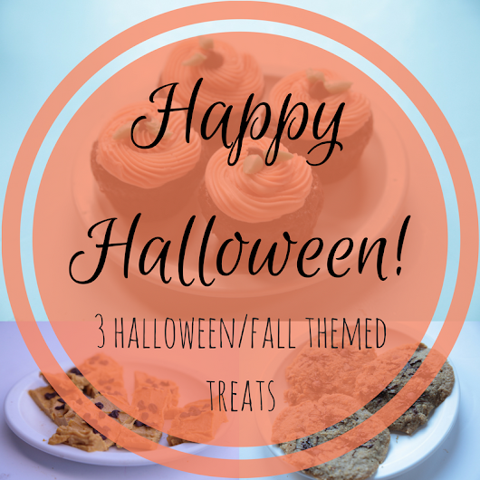 MY SOUTHERN SWEET TOOTH: Happy Halloween! - 3 Halloween/Fall Themed Treats