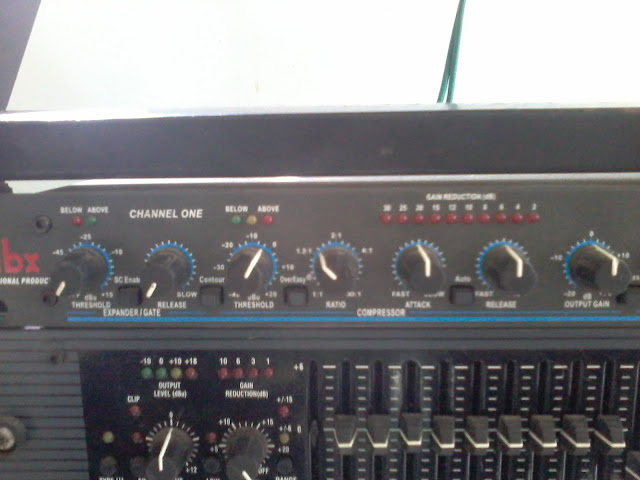 Audio Compressor Limiter