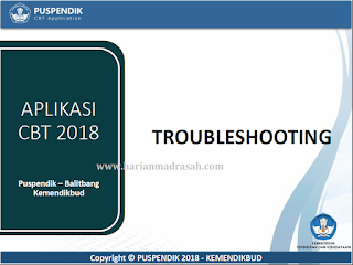 Troubleshooting Aplikasi UNBK 2018