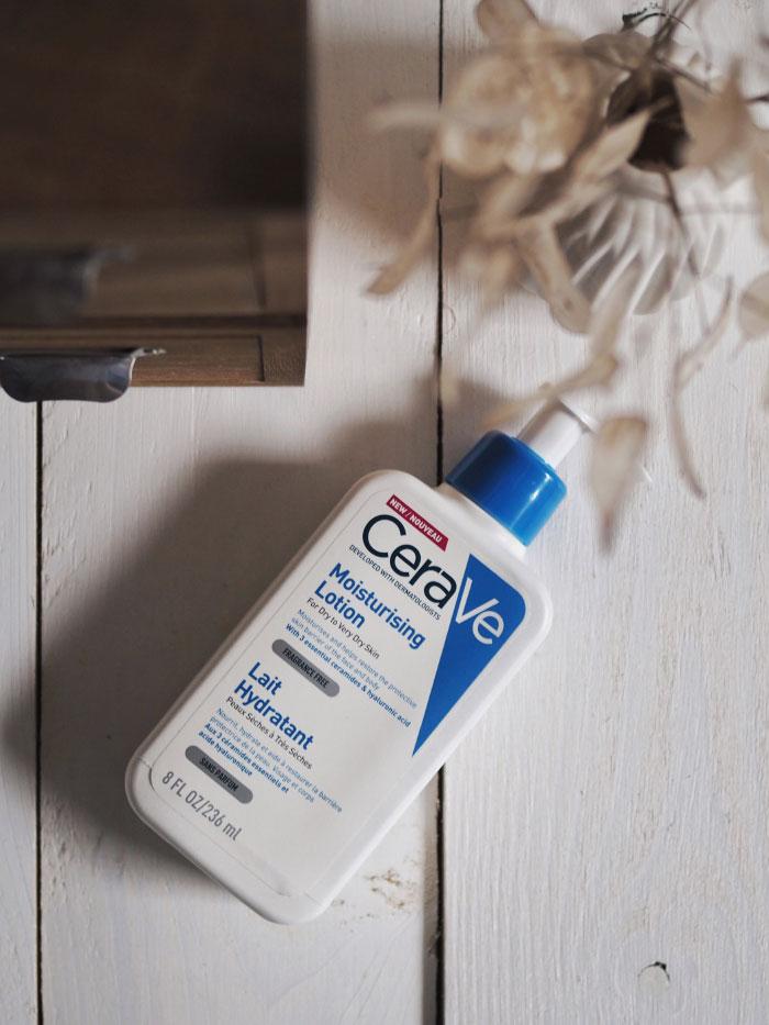 Lait hydratant de la marque CeraVe