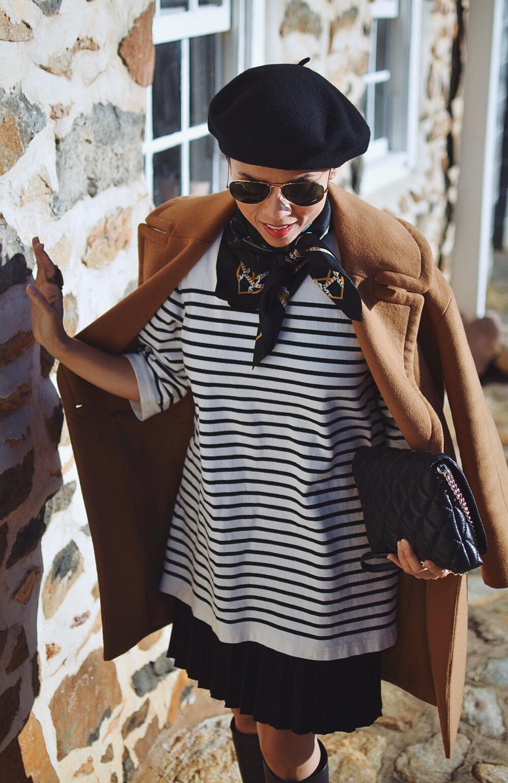 Breton stripes street style