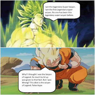 The entire concept of Broly
