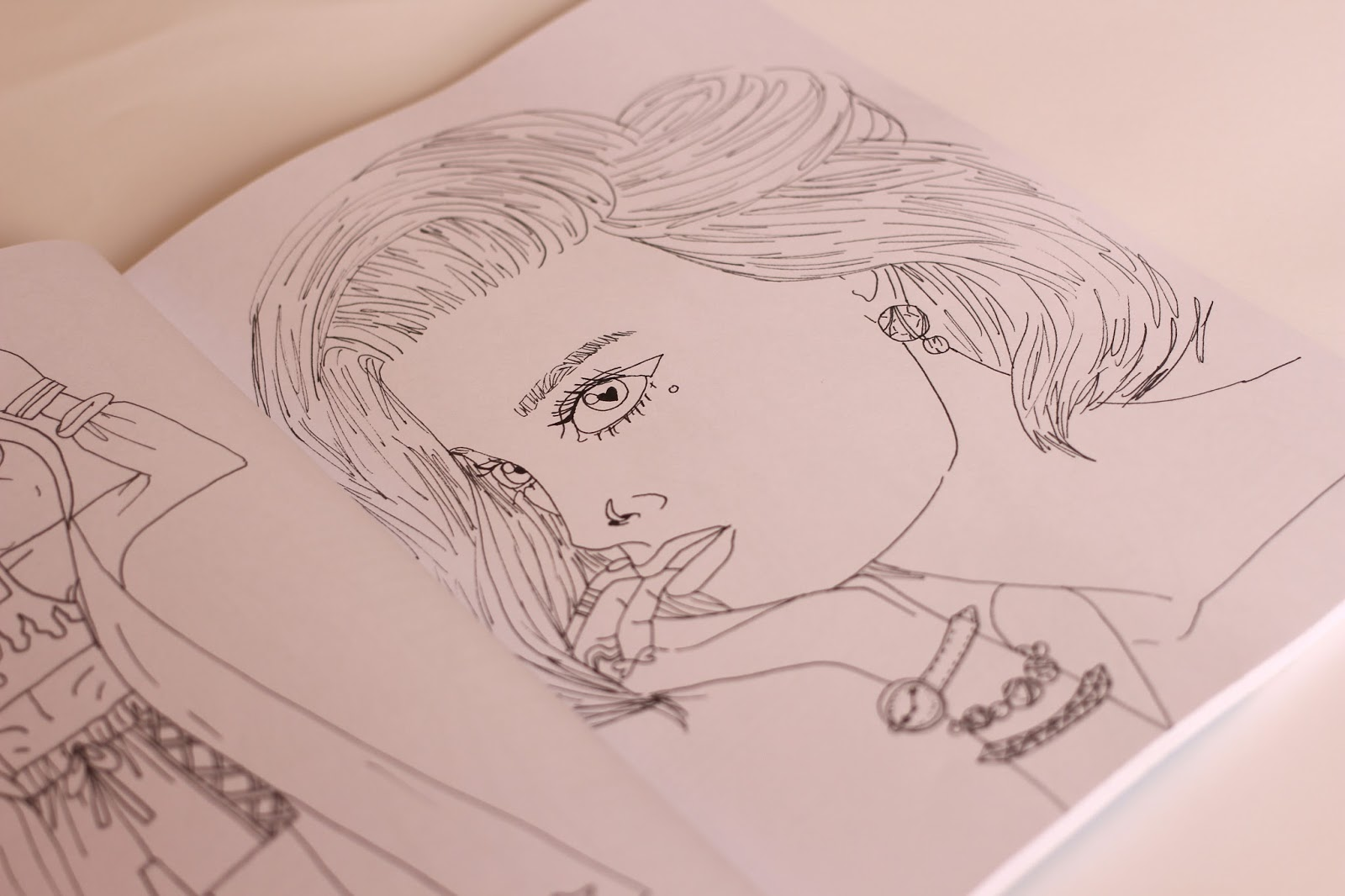 The Whimsical Fashion Colouring Book