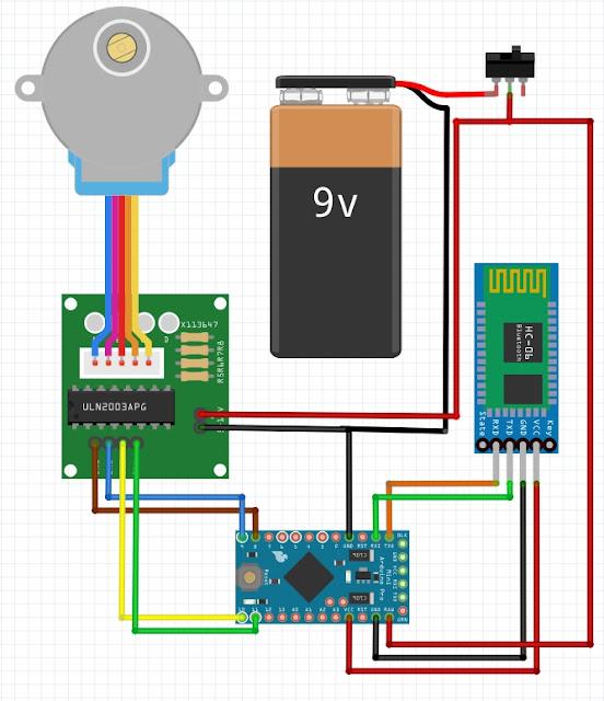 Alexloop Android Remote control - app via bluetooth - RL5D