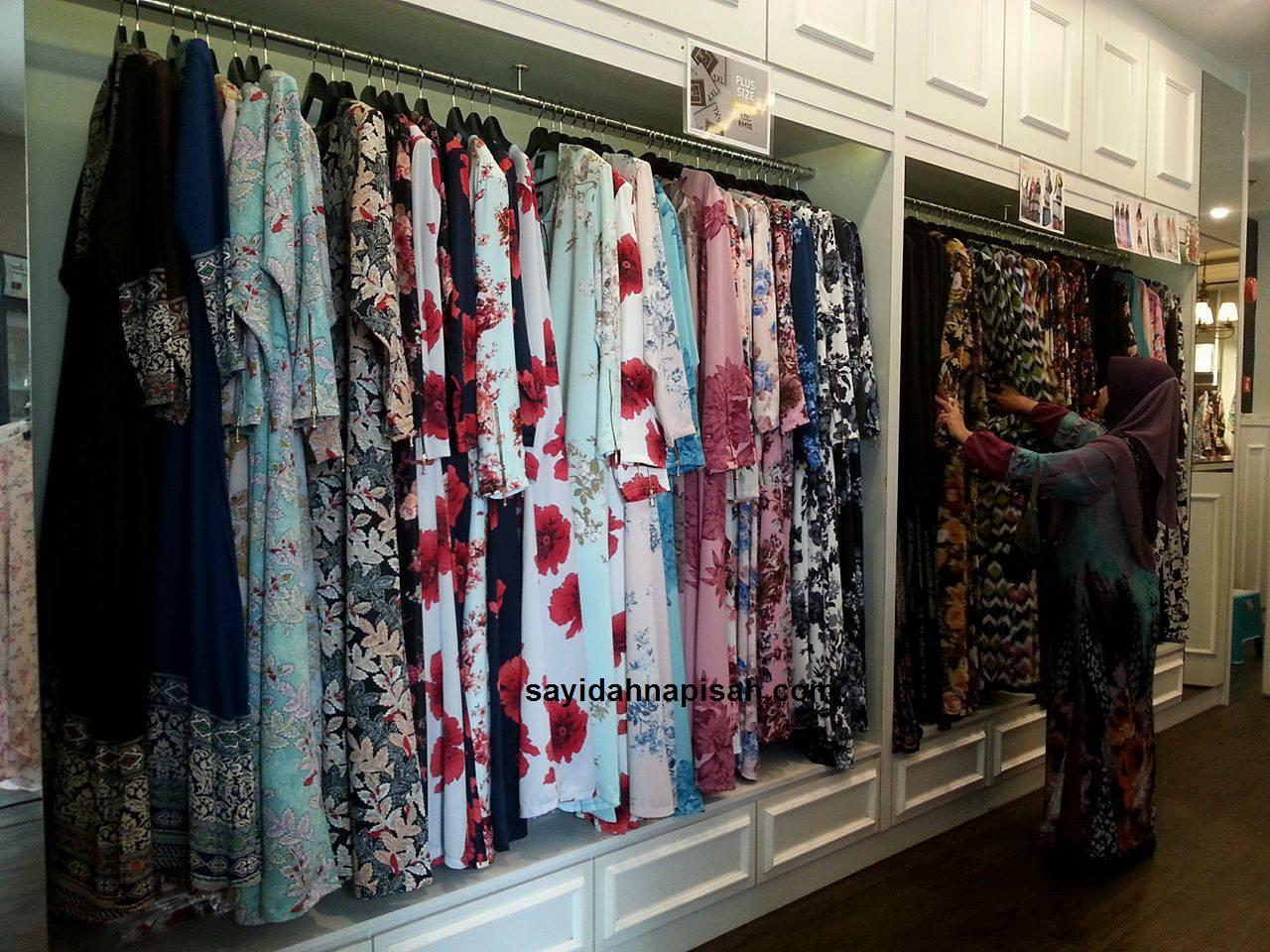 koleksi jubah butik