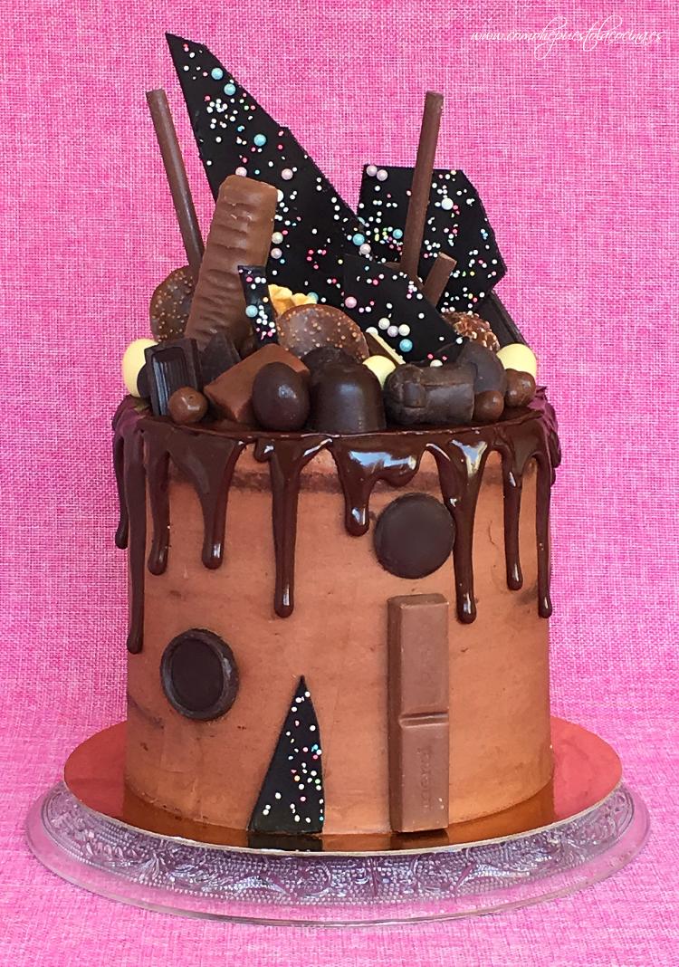 drip-cake-de-chocolate-receta-en-español