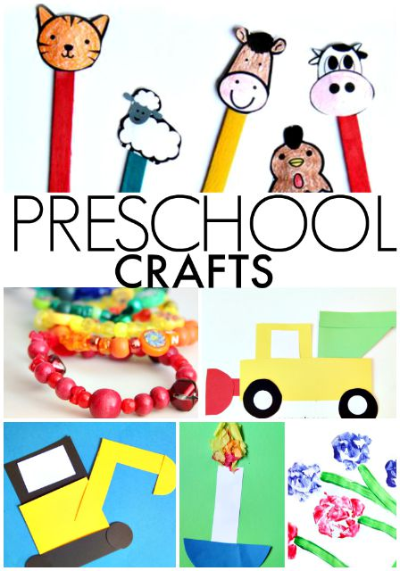 Preschool Crafts for learning and play