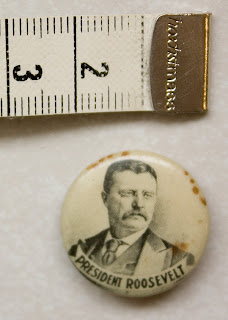 Teddy Roosevelt campaign button