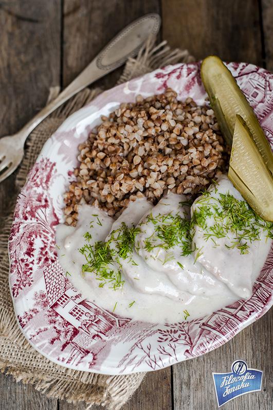 Kotlety wieprzowe w sosie koperkowym
