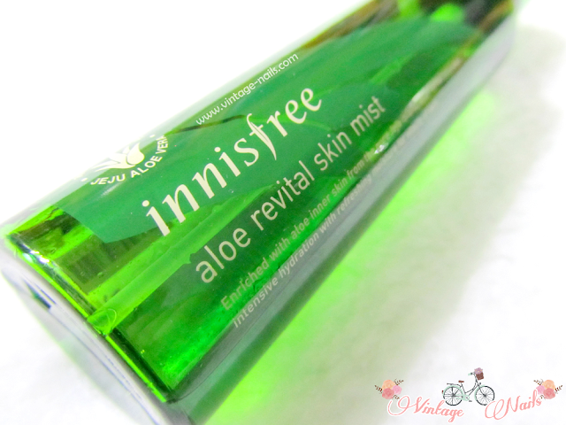 Innisfree, Aloe Revital Skin Mist, korean cosmetics, cosmetica coreana, tonico, niebla facial
