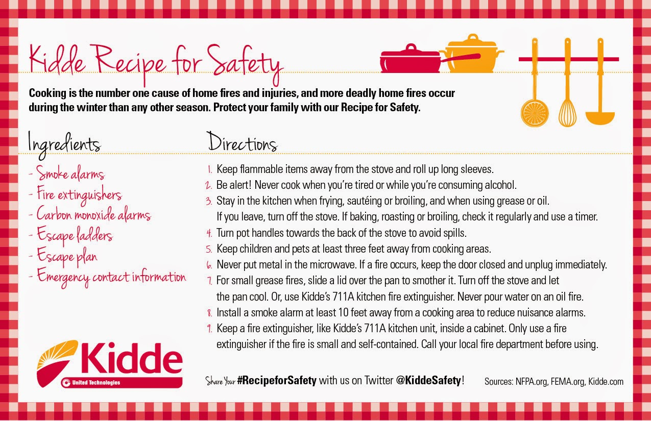 Kidde Kitchen Fire Extinguisher Builder Thanks Mail Carrier The Importance Of 39s Holiday