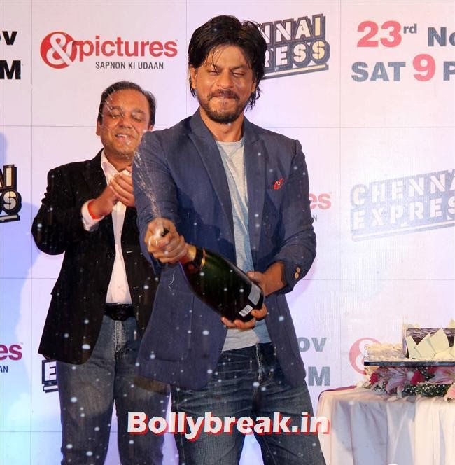 Shah Rukh Khan, Chennai Express Success Party by Zee TV