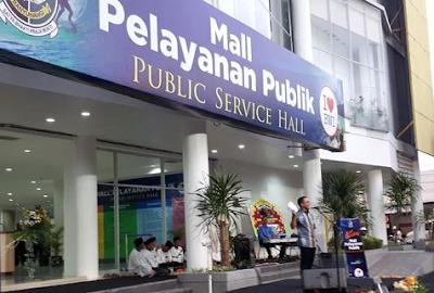 jenis layanan mall pelayanan publik, jam buka mall pelayanan publik
