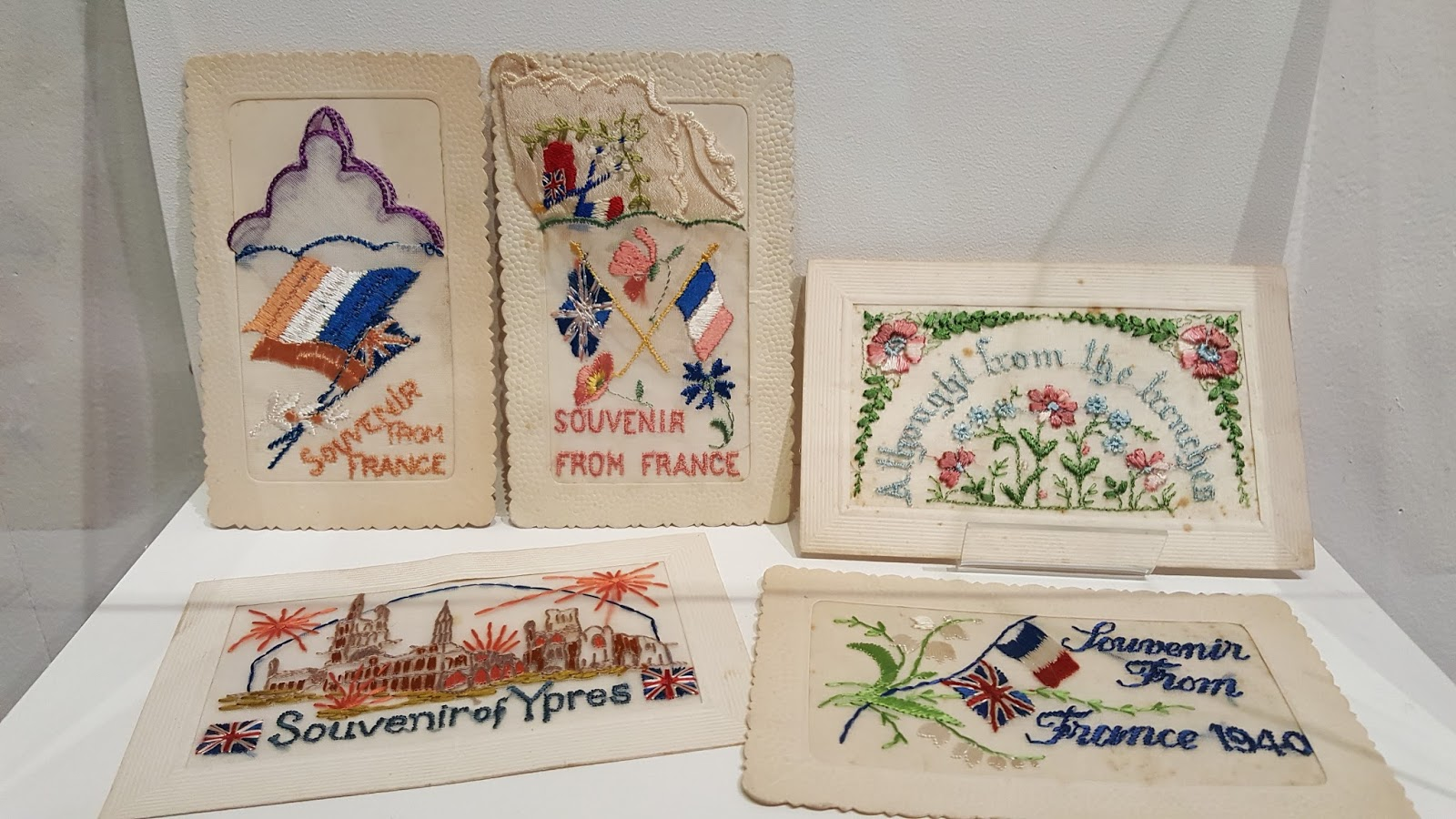 World War Two Embroidery Designs