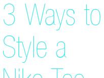 Style a Nike Tee
