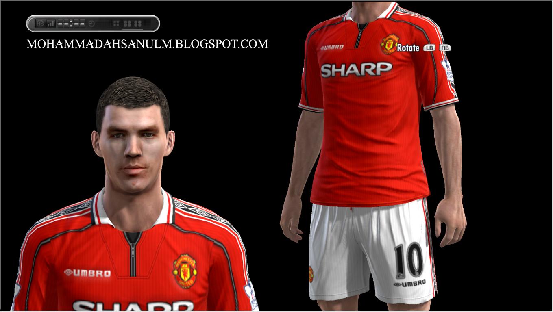 Classic Manchester United Home Kits by Pilki02 ~ KLIK STAR