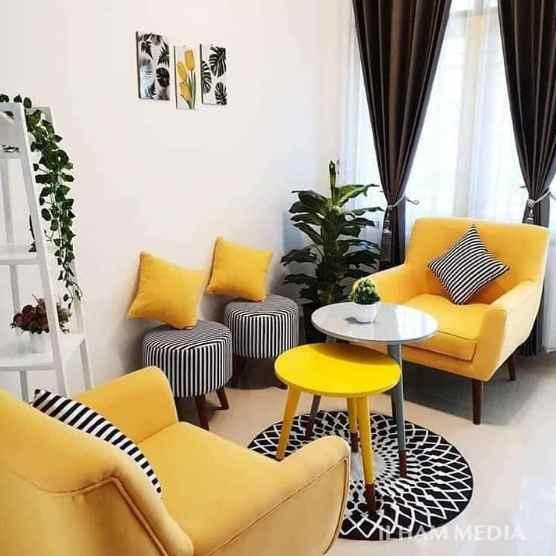 Gorden untuk ruangan rumah minimalis type 30