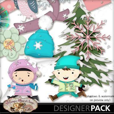 "December Freebie #4 - ""Snowball"""