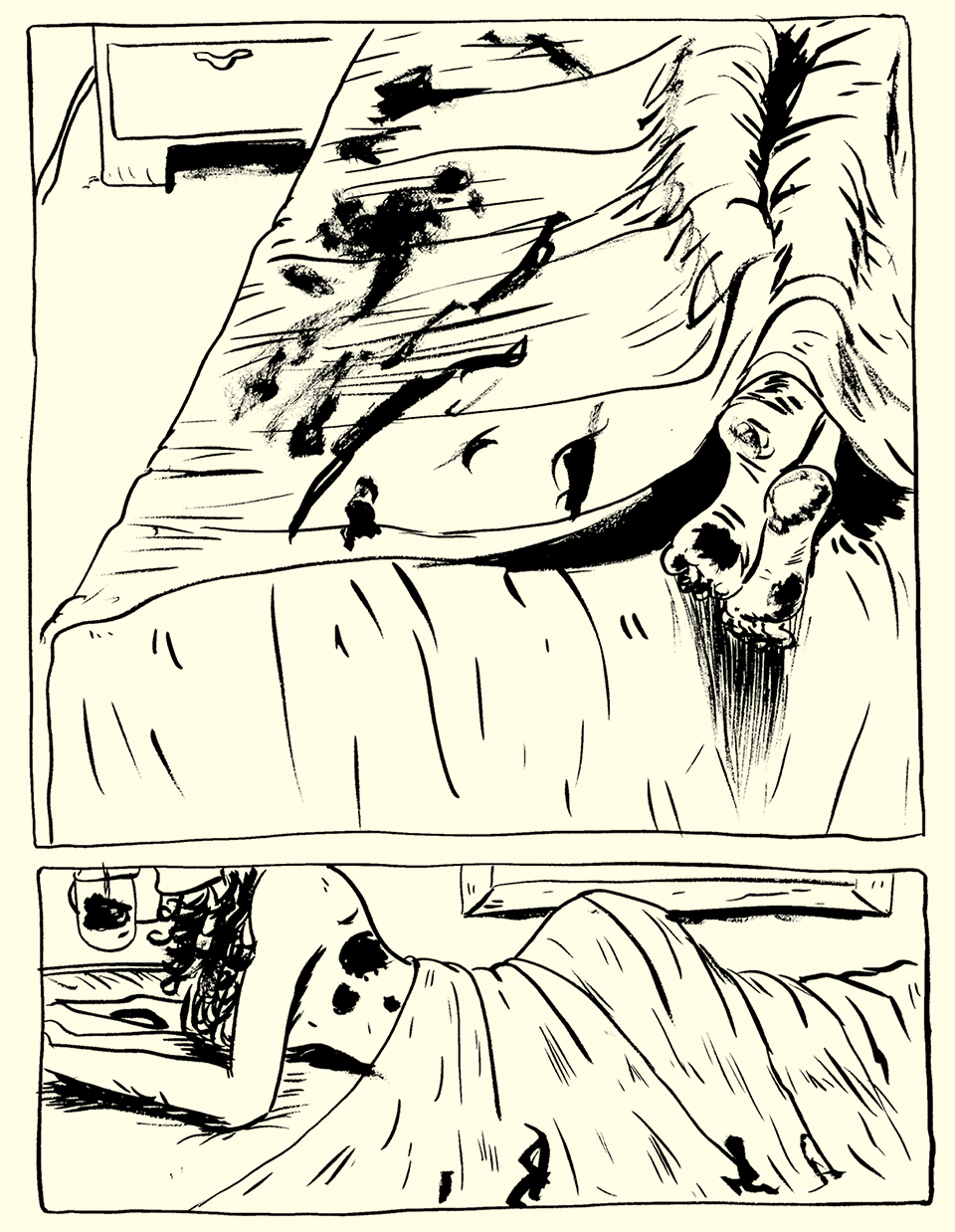 Page 4 by Roho with inks by Jamie Hibdon