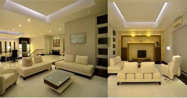 Plafon desain Minimalis Rumah Mewah