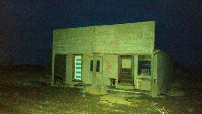 Abandoned building in Model Colorado ghost town