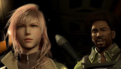Lightning, Sazh, Final Fantasy XIII