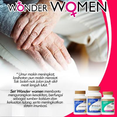 Wonder women shaklee