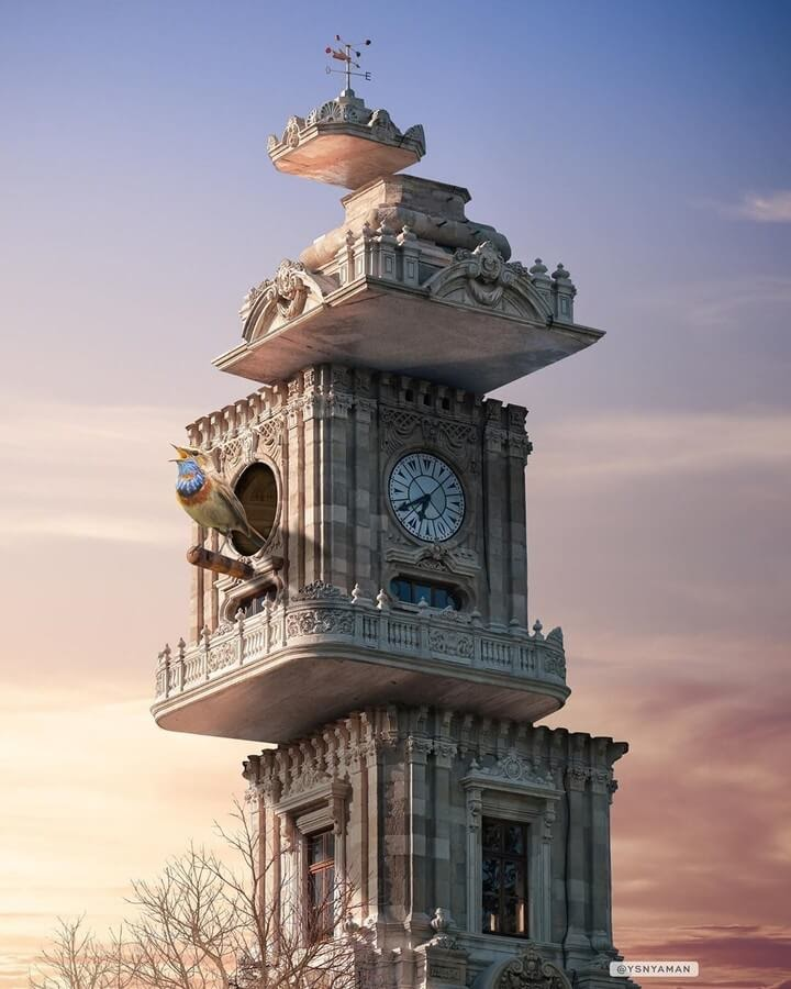 07-The-clock-tower-Yasin-Yaman-Digital-Art-www-designstack-co