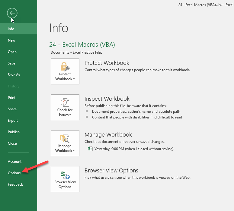 A Practical Introduction To Excel Macros - UrBizEdge