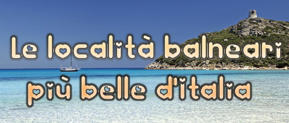 Le 15 località balneari più belle del 2013