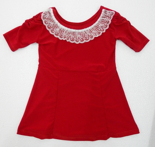Today I'm sharing a girl's peplum top FREE pattern with you! Since we released the Pretty in Peplum Dress & Top Pattern last fall, I've been wanting to share a free version of a peplum top in a smaller size (the Pretty in Peplum pattern includes sizes M years) that will fit Hattie.