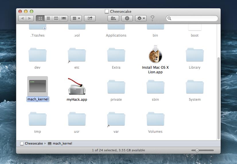 install mac os x lion pc amd