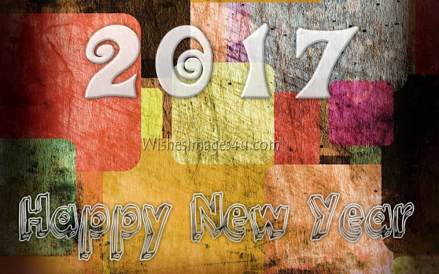 New Year 2017 3D Desktop/PC Background Wallpapers