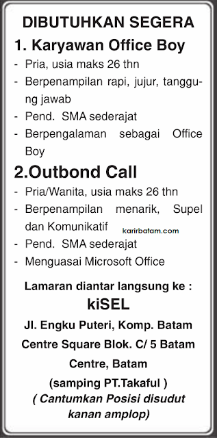 Lowongan Kerja PT. Koperasi Telkomsel (KiSel)