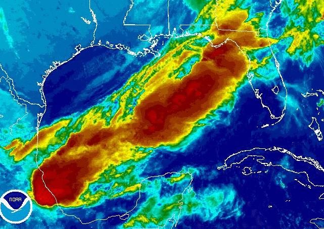 FLORIDA SATELLITE IMAGE LOOP