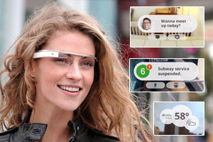 Google Project Glass.