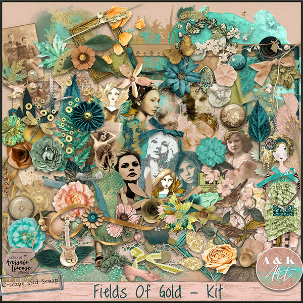 Field of Gold page kit