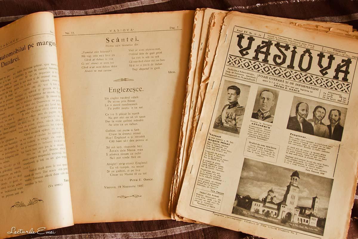 Revista Vasiova  Petru Oance